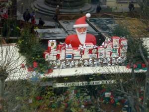 Weihnachtsmann und co am Schlossplatz