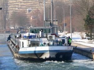 Der Schiffsverkehr ist nicht eingestellt
