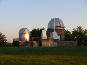Die Sternwarte auf der Uhlandshöhe