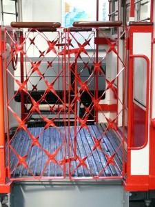 Die Türen zum Staßenbahnmuseum bleiben noch zu
