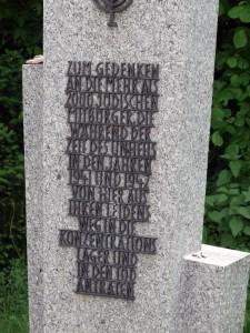 Gedenkstein an die Kreultaten
