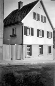 Bussenstraße 16 als die Wunnensteinstraße noch nicht gebaut war