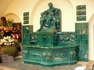Ceresbrunnen in der Stuttgarter Markthalle