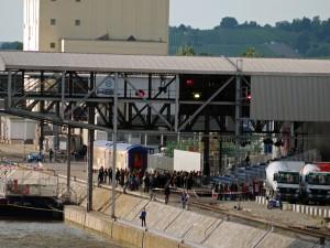 Orient-Express im Stuttgarter Hafen