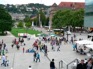 Die Haltestelle Schlossplatz wird zur Haltestelle Charlottenplatz verlegt