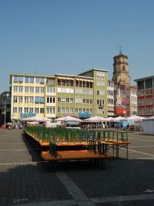 Tote Hose am Marktplatz