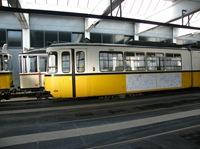 GT4 - Wagen 434 mit Grußplakaten