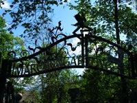 Eingang zum Märchengarten