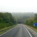 Einfahrt zum Schönbuchtunnel