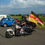 Musikfest mit Motorradfahrern