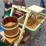 Apfelsaftpressen in Bad Cannstatt