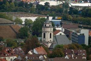 Gaisburg Kirche ohe Zeiger