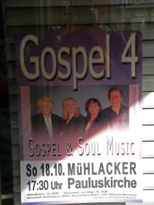 Gospel und soul Music