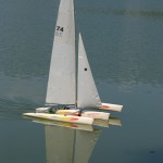 Segler auf dem Max-Eyth-See
