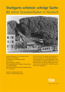 Plakat-SSB Seilbahn