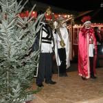 Die Heiligen Drei Könige im finnischen Weihnachtsdorf