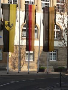 Beflaggung am Volkstrauertag