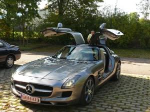 Flügeltürer-MB SLS