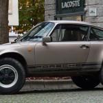 Porsche mit größen Füßen