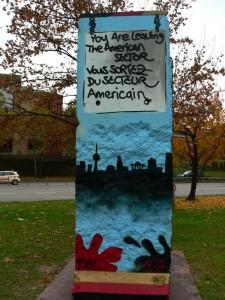 Ein Stückle Mauer aus Berlin