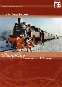 Nikolaus auf der Lokalbahn Gerstetten - Amstetten