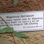 Hinweistafel des SKG Gablenberg