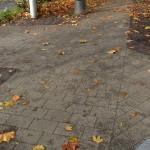 Fußweg Wagenburgstraße / Gymnasium