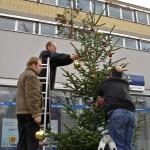 Weihnachtsbaumam Stöckach