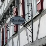 Altes Haus in Hedelfingen