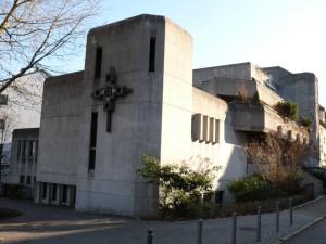 Krippe in der Heilig Geist Kirche