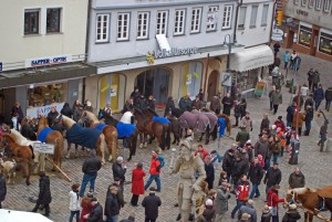 Pferdemarkt in Leonberg