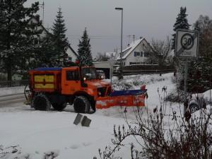 Winterdienst im Heckengäu