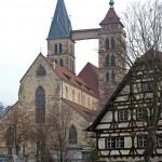 Stadtkirche und Schreinerei