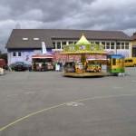 Auf dem Schulhof GH-Schule Gablenberg