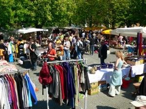 Studentenflohmarkt am Karlsplatz