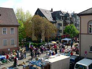 Maimarktflohmarkt in S Wangen