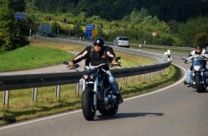 An diesem Wochenede versammel sich die Motorradfahrer