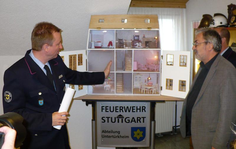 FF-UT Rauchhaus mit Holger-Kamm und Klaus Eggert