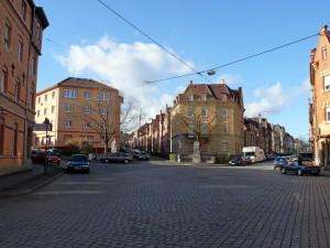 Eduard-Pfeiffer-Platz ehm. Teckplatz