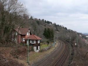 Gäubahn, ehm. Haltepunkt Heslach
