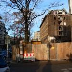 Baustelle auf dem EnBW Gelände Lautenschlagerstraße