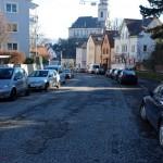 Haußmannstraße, für was Asphalt, Kopfsteinpflaster hält länger
