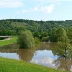 Regenrückhaltebecken bei Leonberg