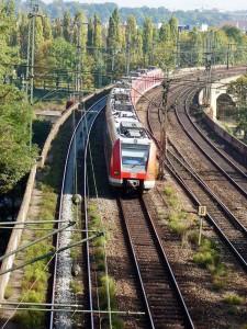 Behinderungen im S-Bahnverkehr