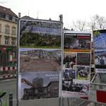 Infostand am Ostendplatz