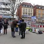 Infostand am Ostendplatz - Gegen S21