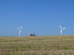 Windkraft und Landwirtschaft