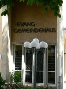 Ev. Gemeindehaus S Wangen