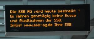 SSB-Streik