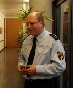Polzeioberrat S. Ritz